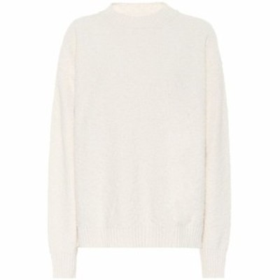 ジル サンダー Jil Sander レディース ニット・セーター トップス Cotton-blend sweater Natural