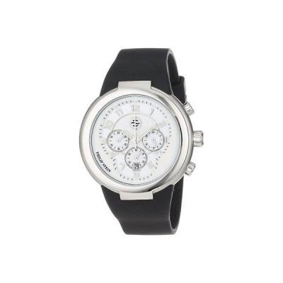 フィリップステイン 腕時計 Philip Stein 32-AW-RBB ユニセックス Active ホワイト and ブラック クロノグラフ ラバー 腕時計