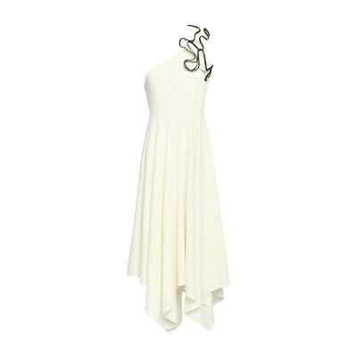 ホルストン・ヘリテージ HALSTON 7分丈ワンピース・ドレス ホワイト 0 ポリエステル 95% / ポリウレタン 5% 7分丈ワンピース・ドレス
