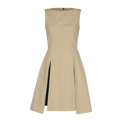 ガレス ピュー GARETH PUGH ミニワンピース&ドレス サンド 42 コットン 100% ミニワンピース&ドレス