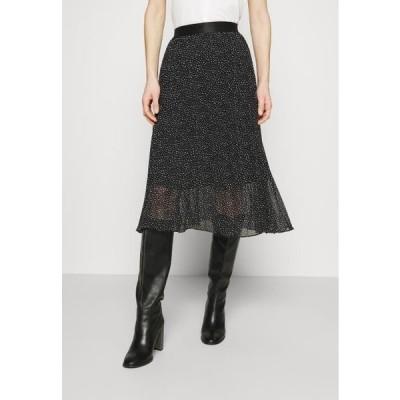 エスプリ レディース ファッション SKIRT - A-line skirt - black