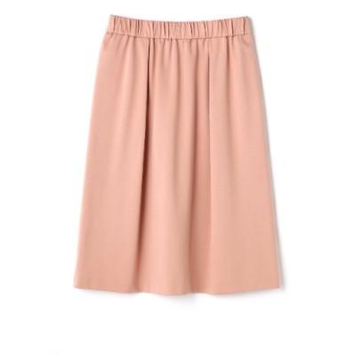 NATURAL BEAUTY[大きいサイズ] (ナチュラルビューティ―) レディース T/Rネグレスコポンチギャザースカート ピンク(090) 13