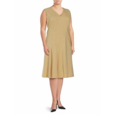ラファイエット148ニューヨーク レディース ワンピース Solid V-Neck Dress