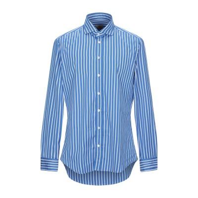 BASTONCINO シャツ ブルー 43 コットン 100% シャツ
