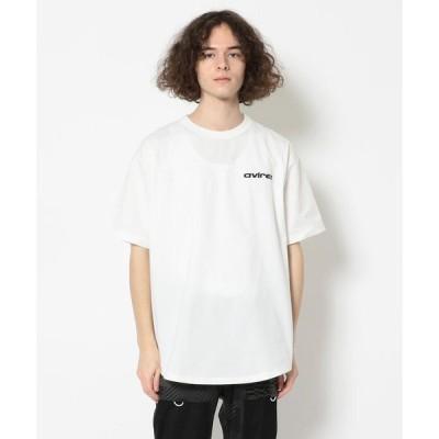 【アヴィレックス】ルーズフィット ラウンド ボトムTシャツ/ LOOSE FIT ROUND BOTTOM T−SHIRT