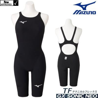 ミズノ 競泳水着 レディース GX SONIC NEO TF  ハーフスーツ MIZUNO TECHNICAL FLEX MODEL 2021年モデル N2MG0705