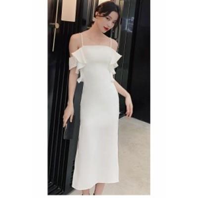 パーティードレス セクシー ウエディングドレス 大きいサイズ タイトワンピース フォーマル 上品 大人 ナイトドレス 結婚式ドレス 発表会