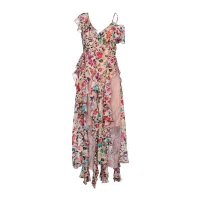 ANNA RACHELE 7分丈ワンピース・ドレス ライトピンク 42 レーヨン 100% 7分丈ワンピース・ドレス