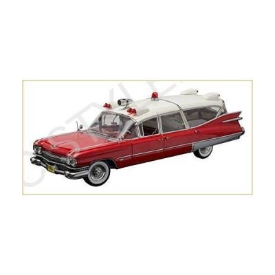 Precision Collection - 1/18 1959 キャデラック Ambulance - レッド  ホワイト