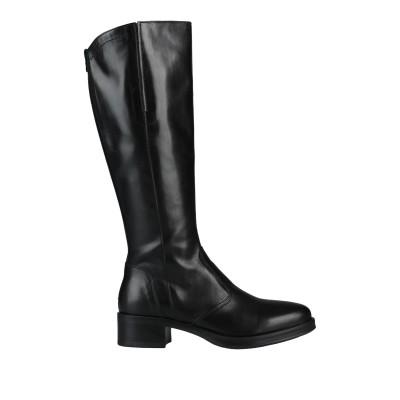 NERO GIARDINI ブーツ ブラック 38 牛革(カーフ) ブーツ