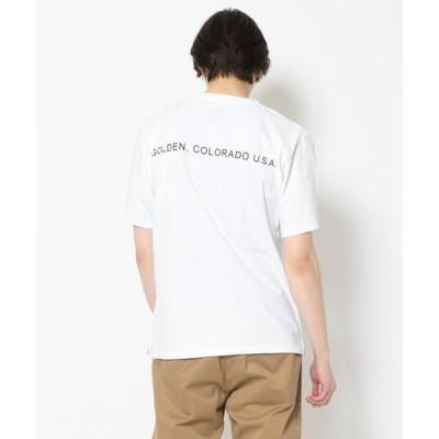 【ビーバー】MOUNTAIN SMITH/マウンテンスミス MS FRONT LOGO WITH P Tシャツ