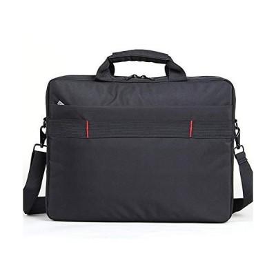DANHCHUN Black Laptop Bag Diagonal Computer Bag 15.6inch (Color : Black, Size : 15.6inch)