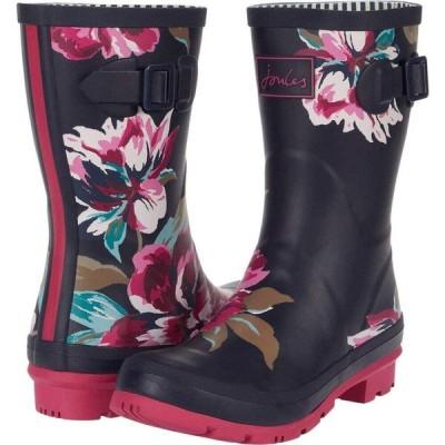 ジュールズ Joules レディース シューズ・靴 Molly Welly Navy All Over Floral 2