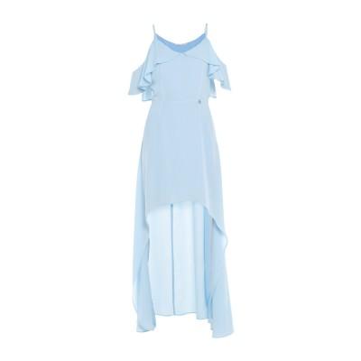 KORALLINE ミニワンピース&ドレス スカイブルー 44 ポリエステル 100% ミニワンピース&ドレス