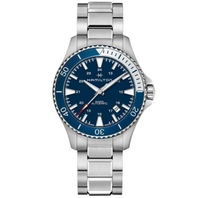 ハミルトン HAMILTON 腕時計 H82345141 メンズ KHAKI カーキ ネイビー SCUBA スキューバ