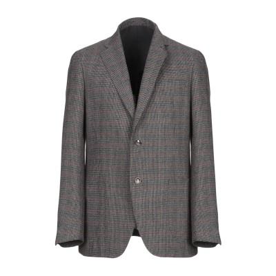 HERMAN & SONS テーラードジャケット スチールグレー 54 ウール 60% / ポリエステル 25% / レーヨン 10% / 指定外繊