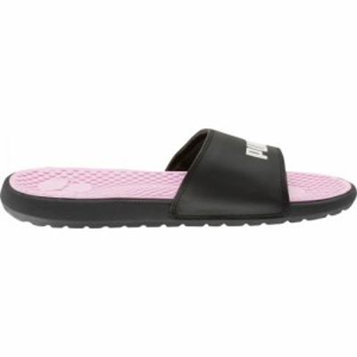 プーマ PUMA レディース サンダル・ミュール シューズ・靴 Cool Cat Slides Black/White/Pink