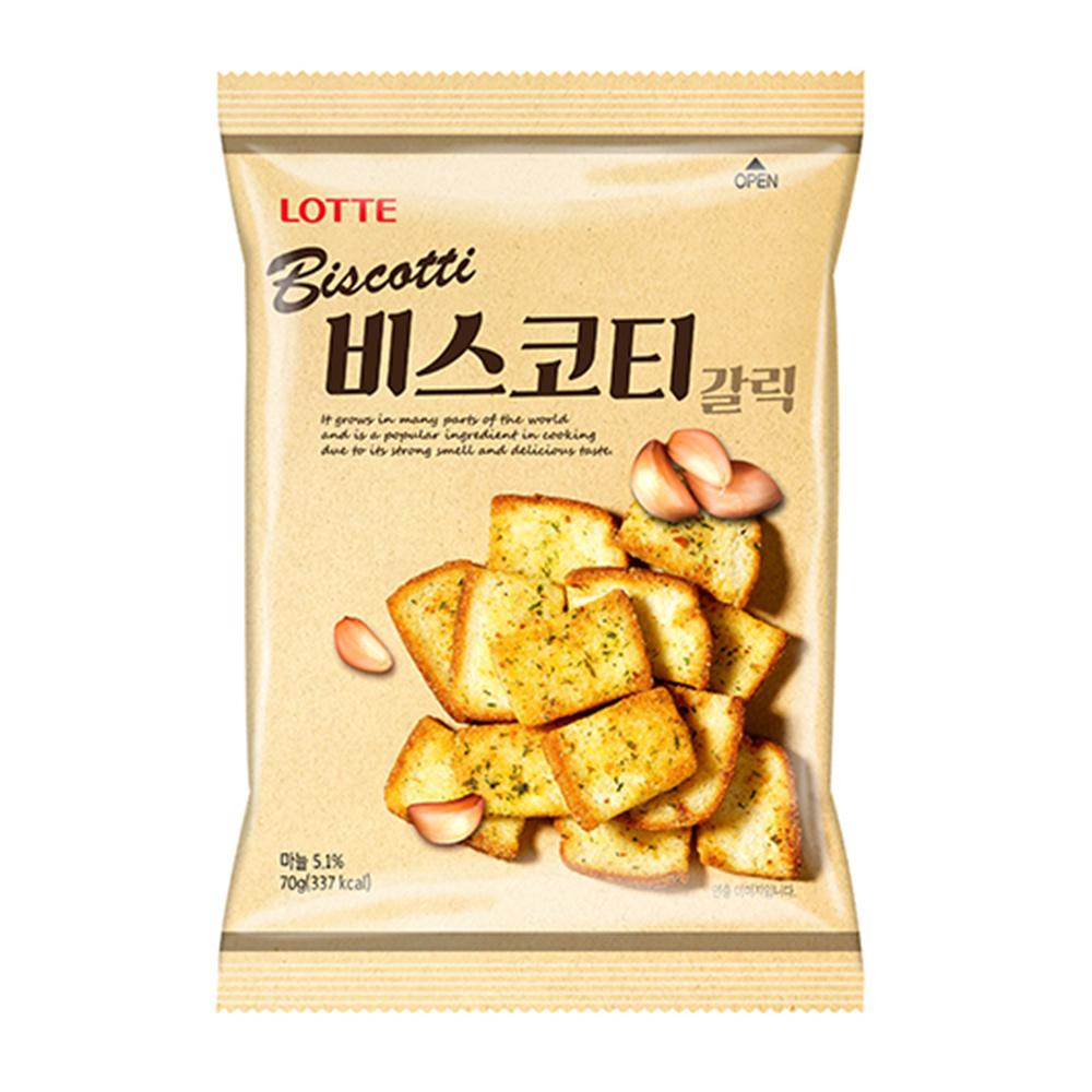韓國樂天大蒜麵包餅