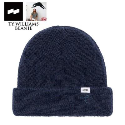BANKS JOURNAL バンクス ジャーナル TY WILLIAMS BEANIE BE0053 ニット帽 ビーニー 帽子 サーフィン サーフボード おしゃれ