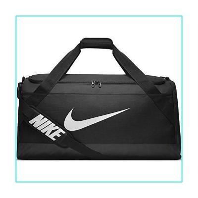 【新品】NIKE Brasilia Training Duffel Bag, Black/Black/White, Large(並行輸入品)