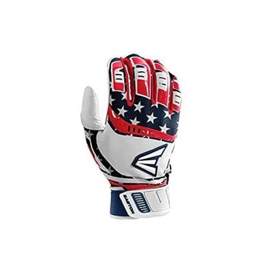 Easton Walk-Off Batting Glove, Pair, Stars/Stripes, Youth, Medium