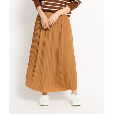 WORLD ONLINE STORE SELECT / 【Sサイズあり】ジョーゼットプリーツスカート WOMEN スカート > スカート