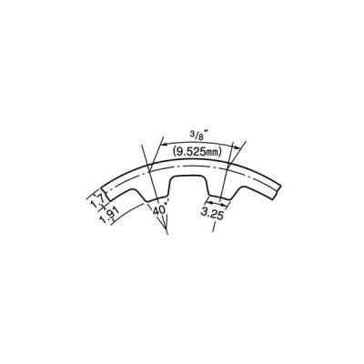 タイミングベルト L150形 三ツ星ベルト 150L150