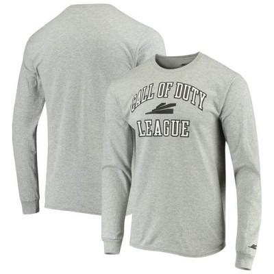 アウタースタッフ Tシャツ トップス メンズ Call of Duty League Rotation Long Sleeve TShirt Heathered Gray