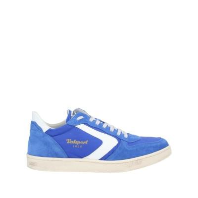 VALSPORT スニーカー&テニスシューズ(ローカット) ブライトブルー 40 革 / 紡績繊維 スニーカー&テニスシューズ(ローカット)