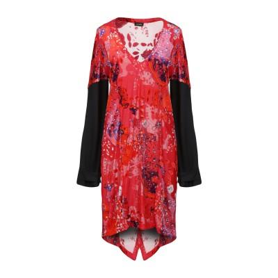 ATLEIN ミニワンピース&ドレス レッド 38 レーヨン 100% / コットン ミニワンピース&ドレス
