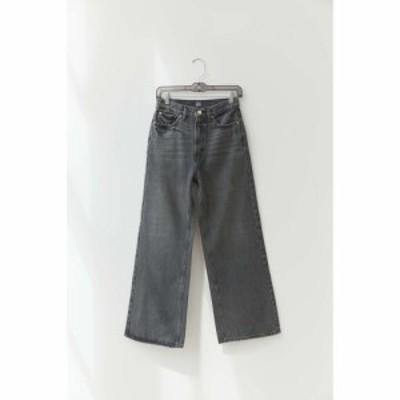 ビーディージー BDG レディース ジーンズ・デニム ワイドパンツ ボトムス・パンツ high-waisted wide leg jean - washed black Washed Bl