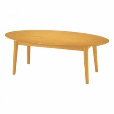 オフィス・施設向け家具 ローテーブル 120×60×45cm ナチュラル UFT-RW1260-NA 家具