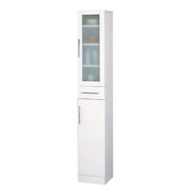 食器棚 カトレア 幅30×高さ180cm( キッチン収納 カップボード  しょっきだな 一人暮らし )