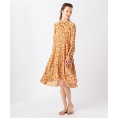 【トゥモローランド】 NO.6×TOMORROWLAND シルク フラワープリントドレス レディース 28オレンジ系 1 TOMORROWLAND