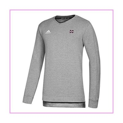 NCAA Mississippi State Bulldogs Men's Game Mode Sweater, Maroon, Large【並行輸入品】