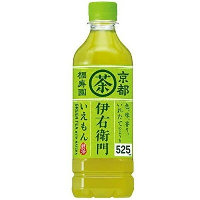 サントリー 伊右衛門 緑茶 ペットボトル 525ml ★ドライ食品・調味料・飲料・日用品★よりどり10kgまで送料1個口★