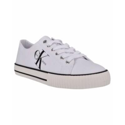 カルバンクライン メンズ スニーカー シューズ Men's Fate Sneakers White