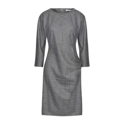 ファビアナフィリッピ FABIANA FILIPPI ミニワンピース&ドレス グレー 42 ウール 98% / ポリウレタン 2% / エコブラス