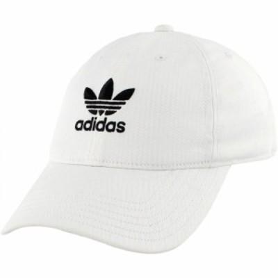 アディダス adidas レディース キャップ スナップバック 帽子 Originals Relaxed Strapback Hat White