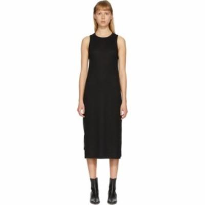 ラグandボーン rag and bone レディース ワンピース ワンピース・ドレス black the knit rib zip dress Black