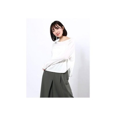 リネーム Rename コットン薄手ニット (ホワイト)