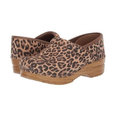 Dansko ダンスコ レディース 女性用 シューズ 靴 クロッグ ミュール Professional - Leopard Suede