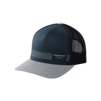 トラビスマヒュー 帽子 アクセサリー メンズ TravisMathew Men's Culebra 20 Hat MoodIndigo