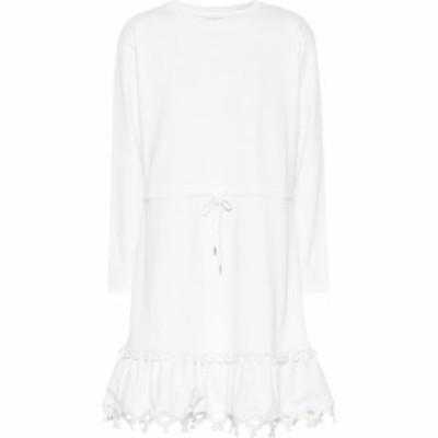 クロエ See By Chloe レディース ワンピース ワンピース・ドレス Cotton Jersey Minidress White Powder