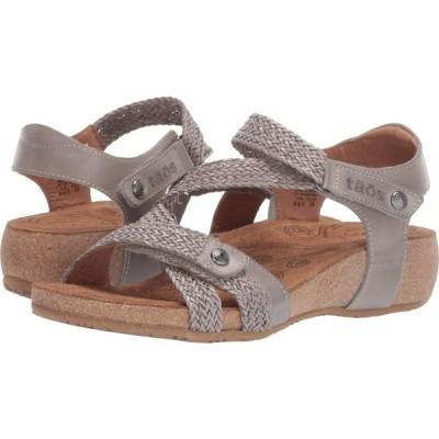 タオス Taos Footwear レディース サンダル・ミュール シューズ・靴 Trulie Light Grey