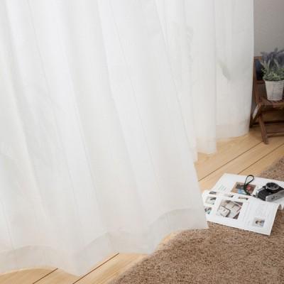 (1枚入り)遮熱・防炎・遮像レースカーテン(Nガード モエニクイ 100X188X1) ニトリ 『玄関先迄納品』
