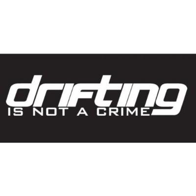 全国配送料無料!漂流デカール、ステッカー、ダイカット、ドリフト、レース、jdm の犯罪ではないです。 海外正規流通品 並行輸入品