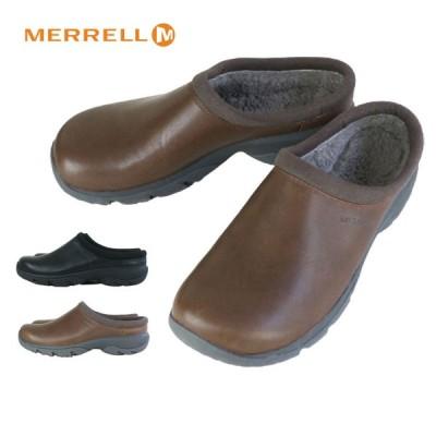 メレル MERRELLENCORE REXTON SLIDE CHILL AC+メンズサンダルBLACK(ブラック)DARK EARTH(ダークアース)メンズ 靴 黒 革 レザー