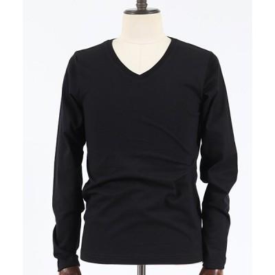 【junhashimoto(ジュンハシモト)】SERIBU V L-S Tシャツ(1100000008)