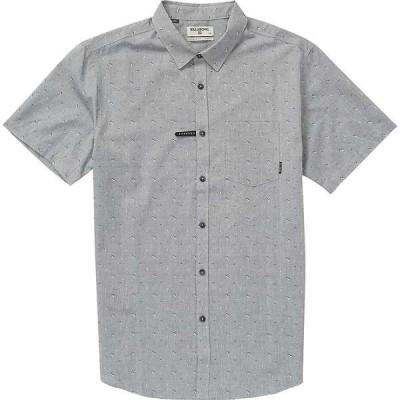 ビラボン メンズ シャツ トップス Billabong Men's Sundays Jacquard SS Shirt